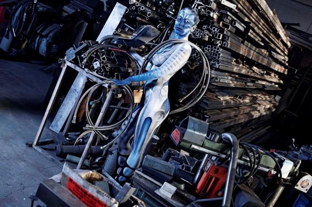 Heavy Metal bodypaint jorg dusterwald