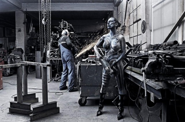 Working art heavy metal jorg dusterwald