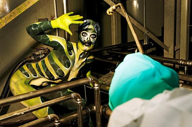working art exterminator jorg dusterwald